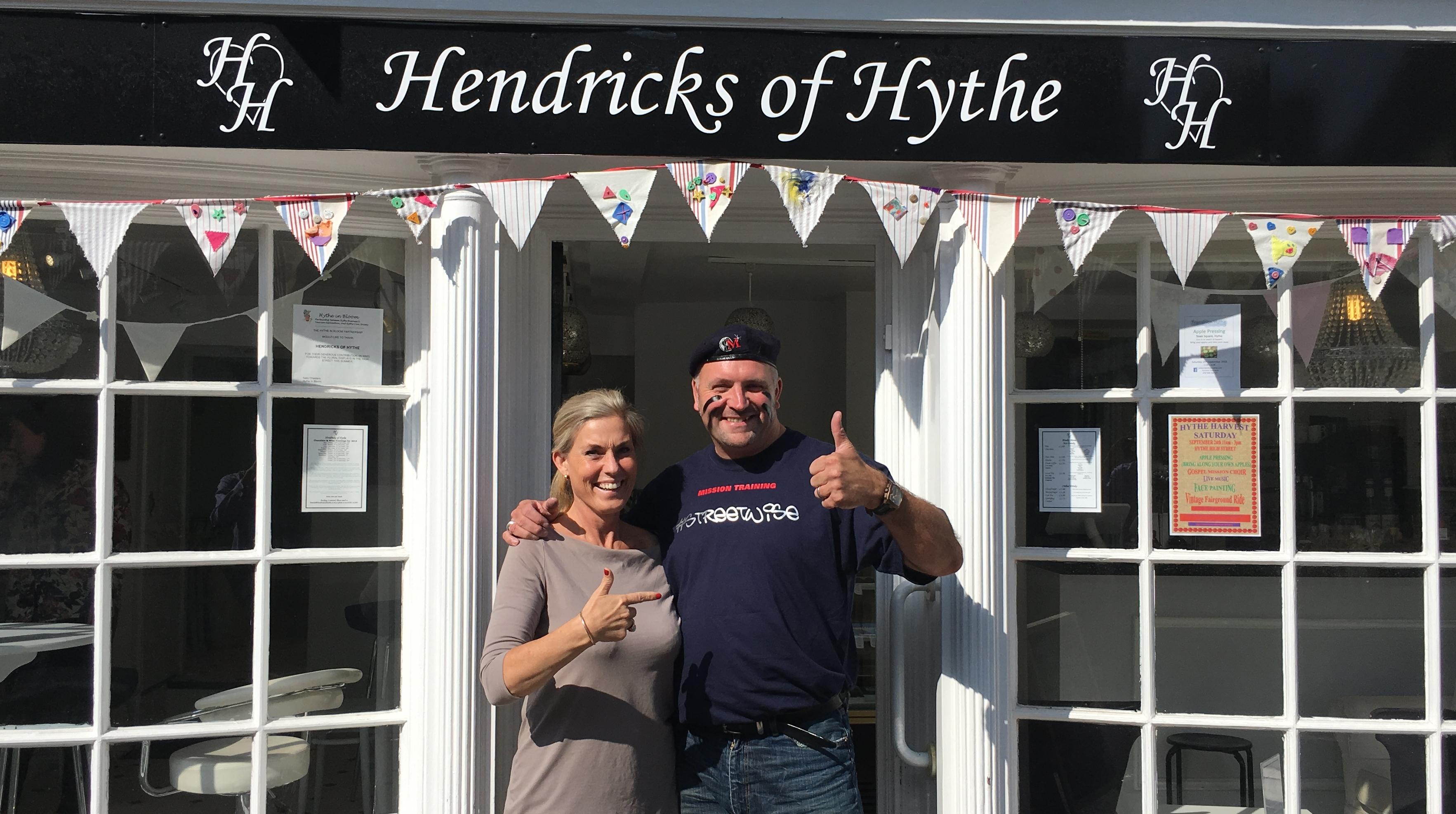 September 2016 - Maximus visited Hendricks of Hythe