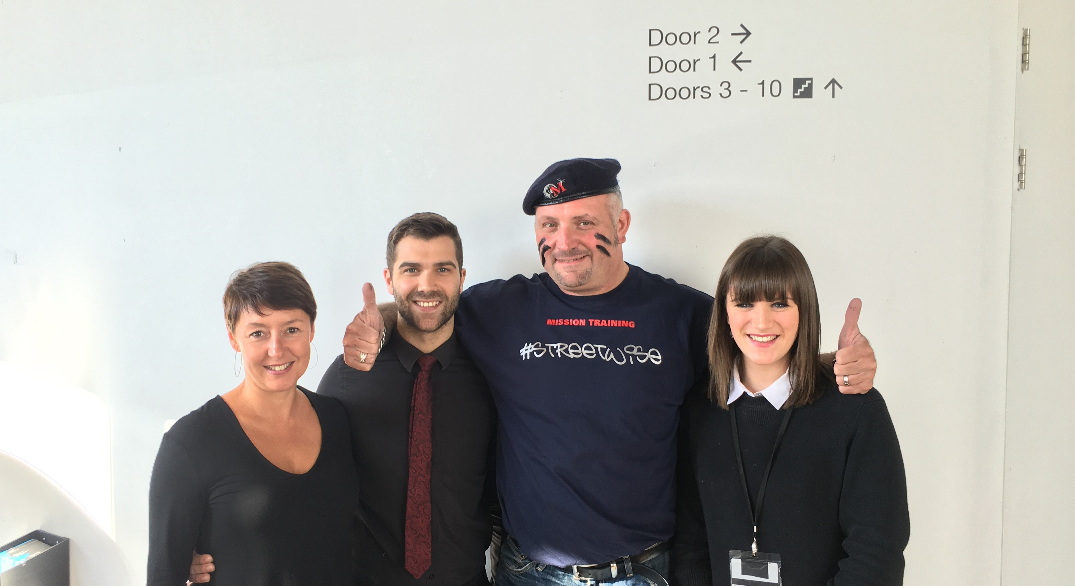 September 2016 - Maximus visited the team at The Marlowe Theatre