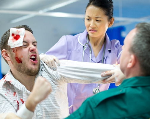emergency room violence related to nursing Domestic violence: the role of the of obstetric/gynecology residents related to domestic violence the victim of domestic violence american journal of nursing.